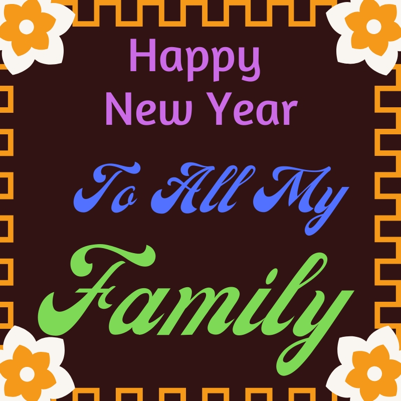 Happy New Year 2022 Uncle