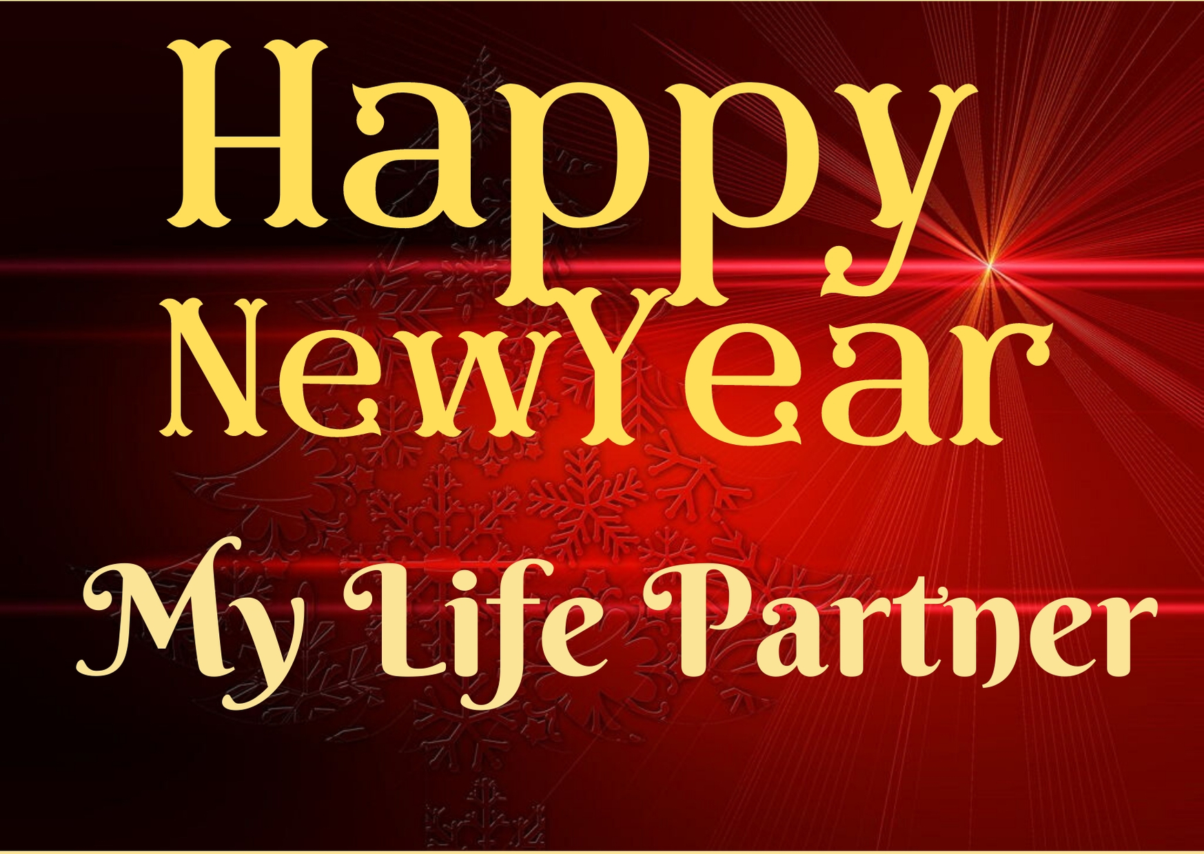 Happy New Year 2020 Wishes For Life Partner