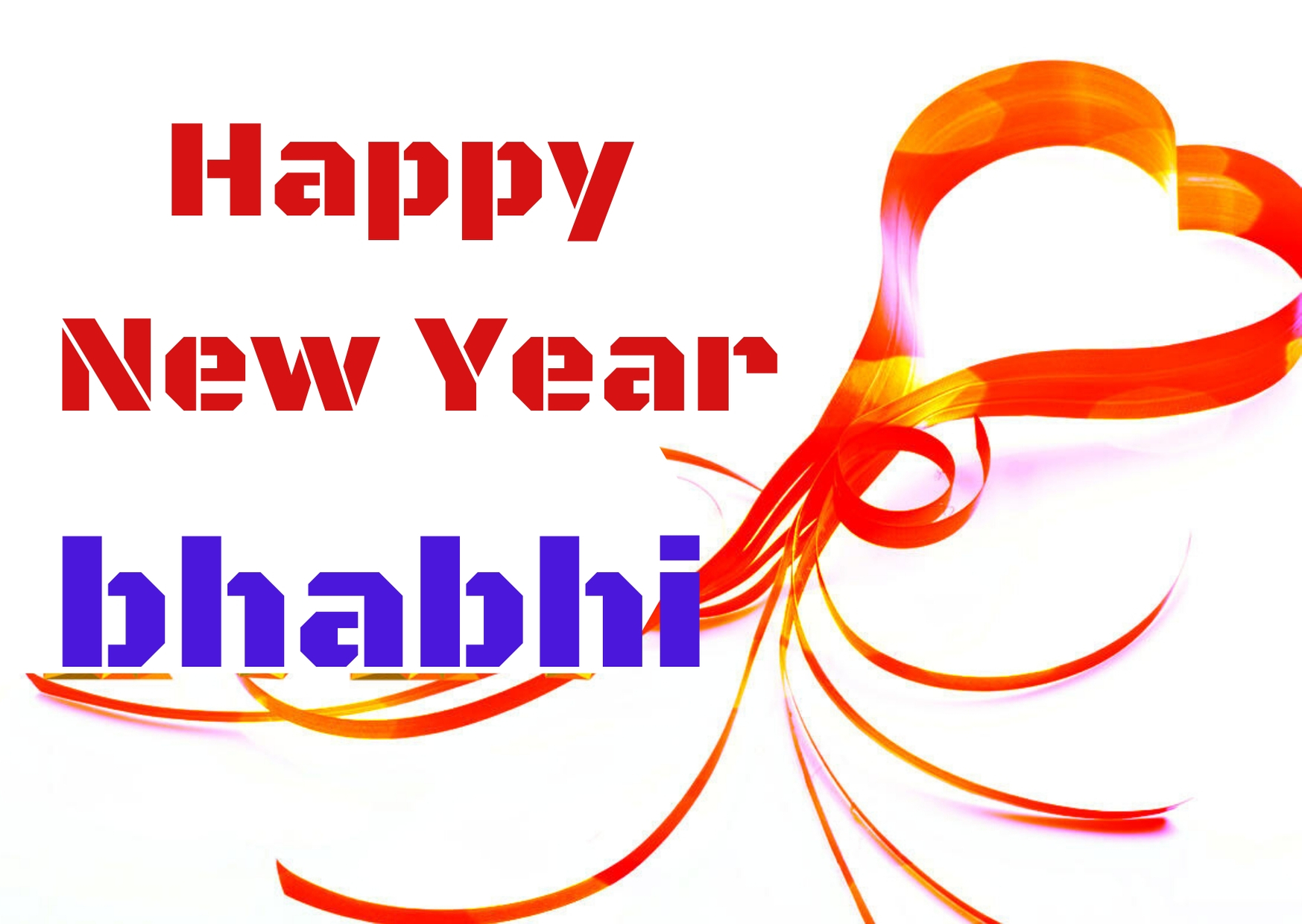 Happy New Year 2021 Wishes For  Bhabhi