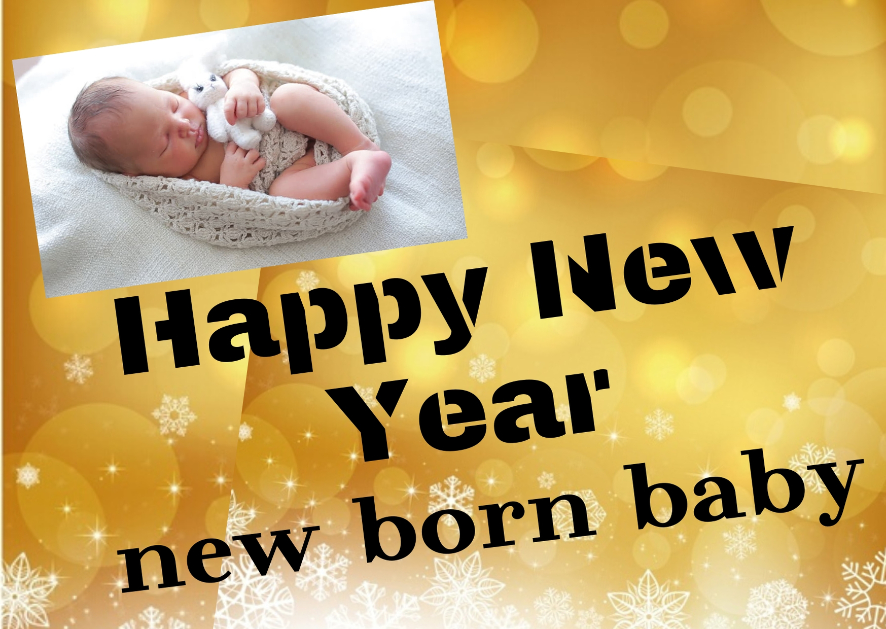Happy New Year 2020 Wishes For New Born Baby