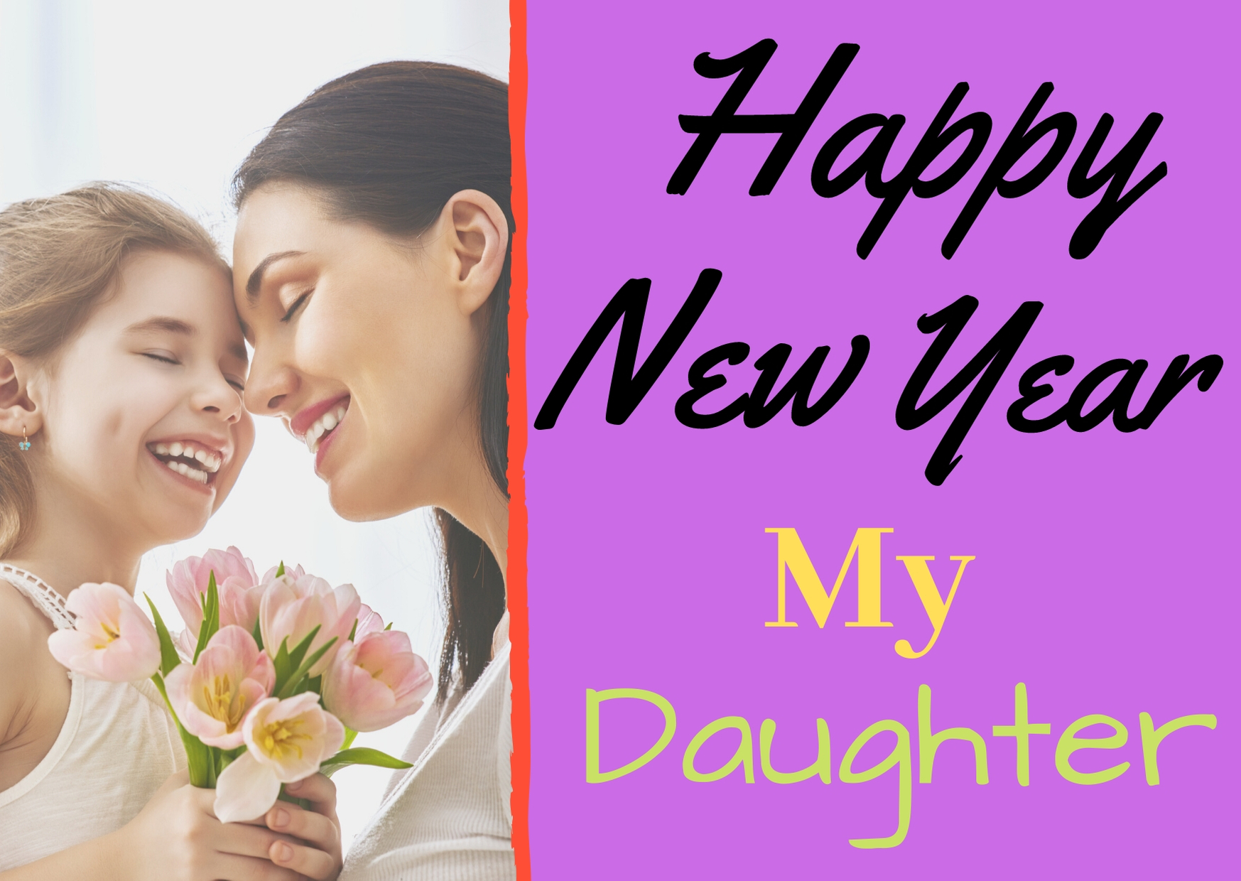 Happy New Year 2021 Wishes For Daughter